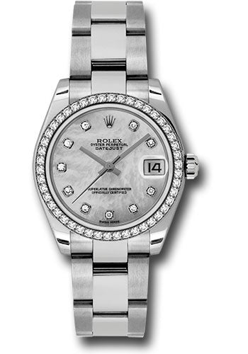 Rolex Steel, WG, & Diamond Datejust - 31mm - Mid-Size #178384 mdo