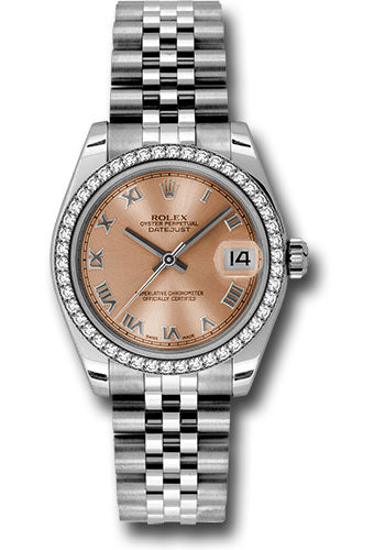 Rolex Steel, WG, & Diamond Datejust - 31mm - Mid-Size #178384 prj