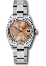 Rolex Steel, WG, & Diamond Datejust - 31mm - Mid-Size #178384 pro