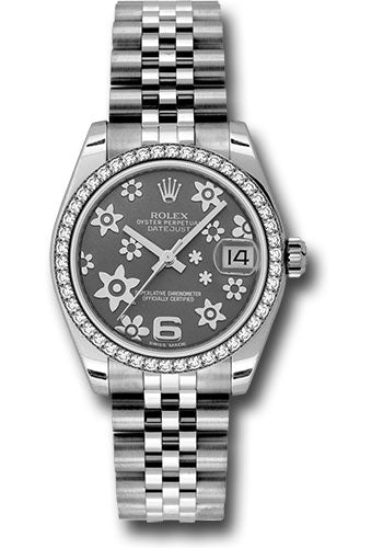 Rolex Steel, WG, & Diamond Datejust - 31mm - Mid-Size #178384 rfj