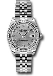 Rolex Steel, WG, & Diamond Datejust - 31mm - Mid-Size #178384 scaj