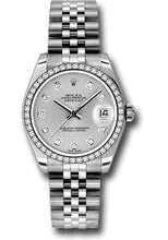 Rolex Steel, WG, & Diamond Datejust - 31mm - Mid-Size #178384 sdj