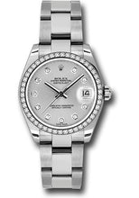 Rolex Steel, WG, & Diamond Datejust - 31mm - Mid-Size #178384 sdo