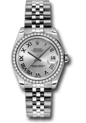 Rolex Steel, WG, & Diamond Datejust - 31mm - Mid-Size #178384 srj