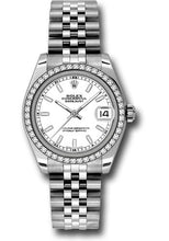 Rolex Steel, WG, & Diamond Datejust - 31mm - Mid-Size #178384 wij