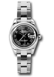 Rolex Stainless Steel Datejust -26mm #179160 bkro