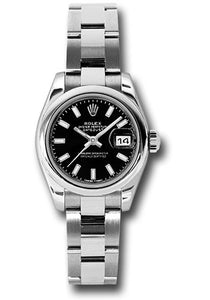 Rolex Stainless Steel Datejust -26mm #179160 bkso