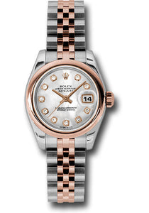 Rolex Steel and 18k RG Datejust -26mm #179161 mdj