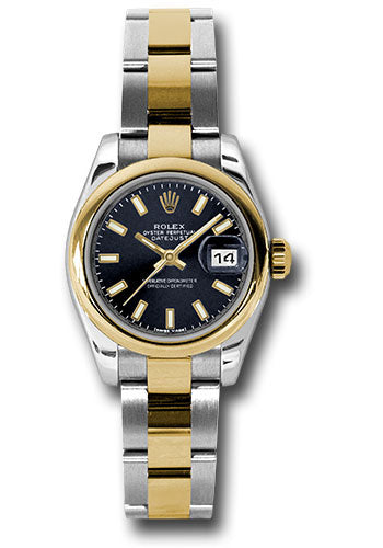 Rolex Steel and 18k YG Datejust -26mm #179163 bkso