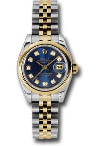 Rolex Steel and 18k YG Datejust -26mm #179163 bldj