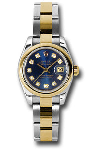 Rolex Steel and 18k YG Datejust -26mm #179163 bldo