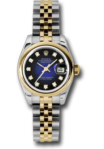 Rolex Steel and 18k YG Datejust -26mm #179163 blvdj
