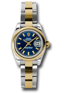 Rolex Steel and 18k YG Datejust -26mm #179163 blso
