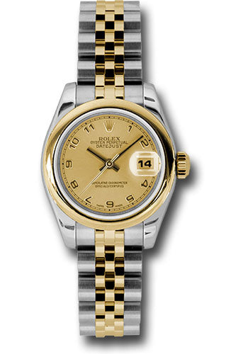 Rolex Steel and 18k YG Datejust -26mm #179163 chaj