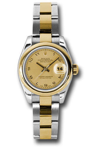 Rolex Steel and 18k YG Datejust -26mm #179163 chao