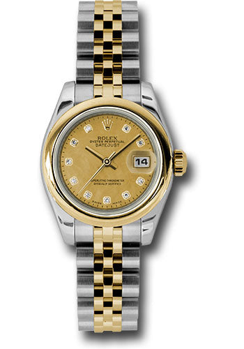 Rolex Steel and 18k YG Datejust -26mm #179163 chgdmdj