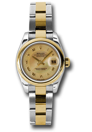 Rolex Steel and 18k YG Datejust -26mm #179163 chmdro