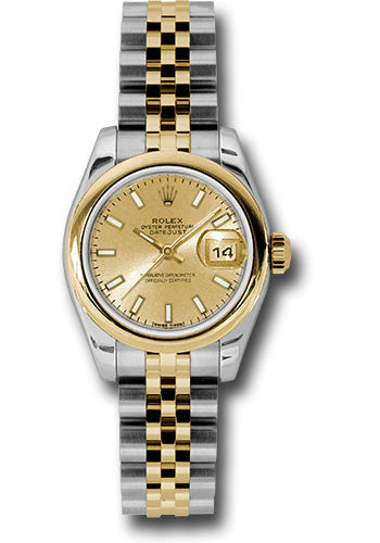 Rolex Steel and 18k YG Datejust -26mm #179163 chsj