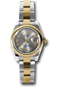 Rolex Steel and 18k YG Datejust -26mm #179163 gro