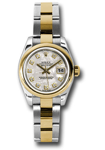 Rolex Steel and 18k YG Datejust -26mm #179163 mtdo