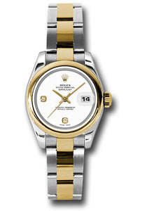 Rolex Steel and 18k YG Datejust -26mm #179163 wado