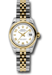 Rolex Steel and 18k YG Datejust -26mm #179163 waj
