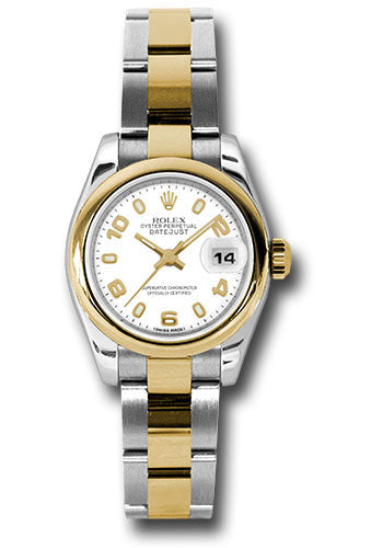 Rolex Steel and 18k YG Datejust -26mm #179163 wao