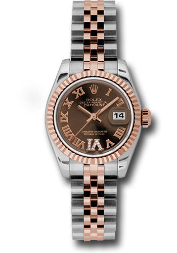 Rolex Steel and 18k RG Datejust -26mm #179171 chodrj