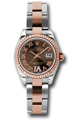 Rolex Steel and 18k RG Datejust -26mm #179171 chodro