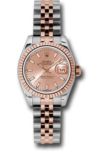Rolex Steel and 18k RG Datejust -26mm #179171 psj
