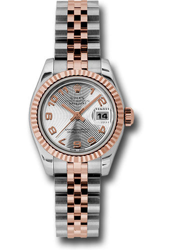 Rolex Steel and 18k RG Datejust -26mm #179171