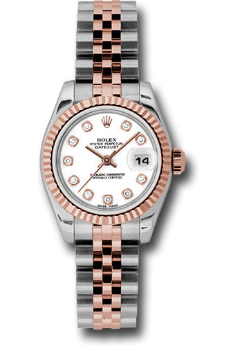 Rolex Steel and 18k RG Datejust -26mm #179171 wdj