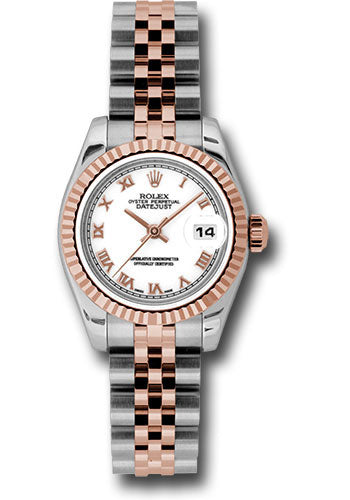 Rolex Steel and 18k RG Datejust -26mm #179171 wrj