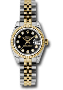 Rolex Steel and 18k YG Datejust -26mm #179173 bkdj