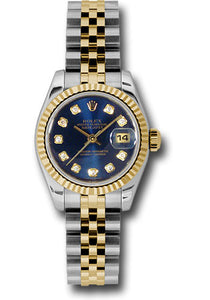 Rolex Steel and 18k YG Datejust -26mm #179173 blcaj
