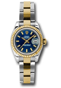 Rolex Steel and 18k YG Datejust -26mm #179173 blso