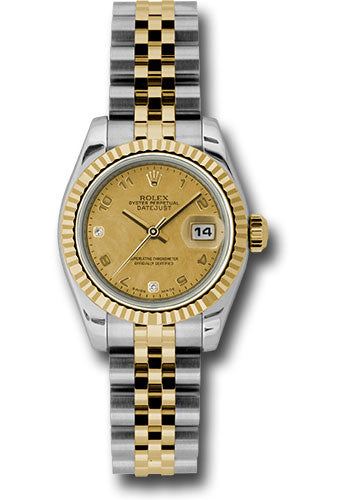 Rolex Steel and 18k YG Datejust -26mm #179173 chgdmdaj