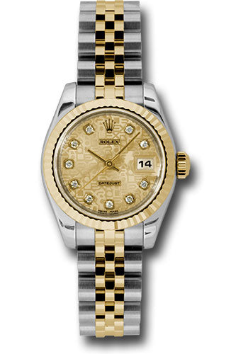 Rolex Steel and 18k YG Datejust -26mm #179173 chjdj