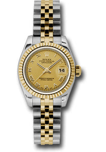 Rolex Steel and 18k YG Datejust -26mm #179173 chrj