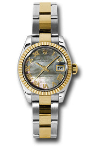 Rolex Steel and 18k YG Datejust -26mm #179173 dkmro