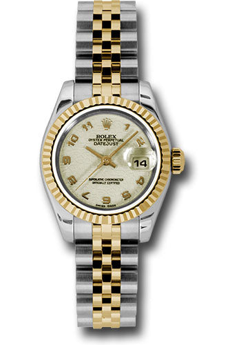 Rolex Steel and 18k YG Datejust -26mm #179173 ijaj