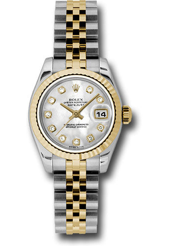 Rolex Steel and 18k YG Datejust -26mm #179173 mdj