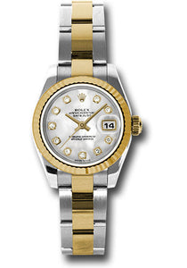Rolex Steel and 18k YG Datejust -26mm #179173 mdo