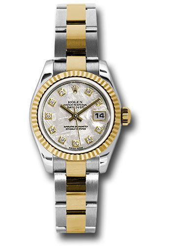 Rolex Steel and 18k YG Datejust -26mm #179173 mtdo