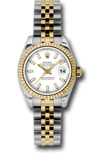 Rolex Steel and 18k YG Datejust -26mm #179173 wsj