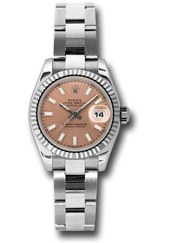 Rolex Steel and 18k WG Datejust -26mm #179174 pso