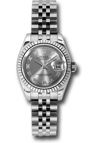 Rolex Steel and 18k WG Datejust -26mm #179174 rrj