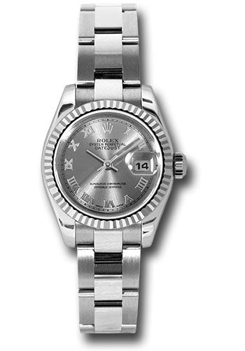 Rolex Steel and 18k WG Datejust -26mm #179174 rro
