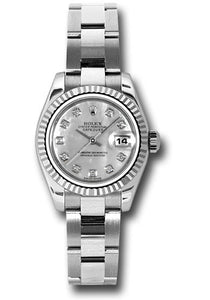 Rolex Steel and 18k WG Datejust -26mm #179174 mdo