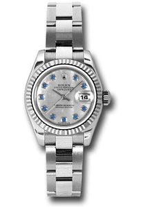 Rolex Steel and 18k WG Datejust -26mm #179174 msao